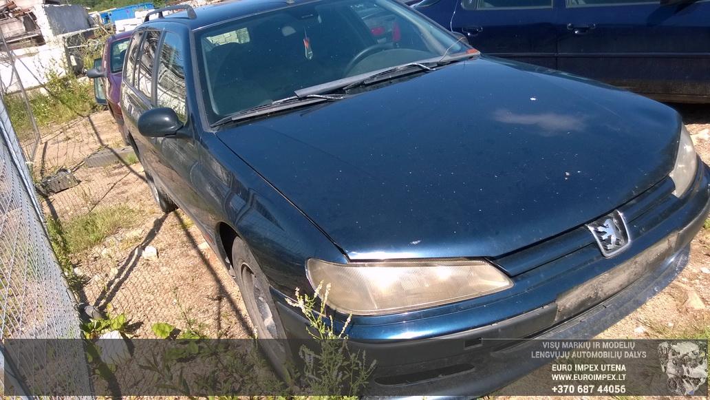 Naudotos automobiliu dallys Foto 3 Peugeot 406 1999 1.9 Mechaninė Universalas 4/5 d. Melyna 2014-7-16 A1679