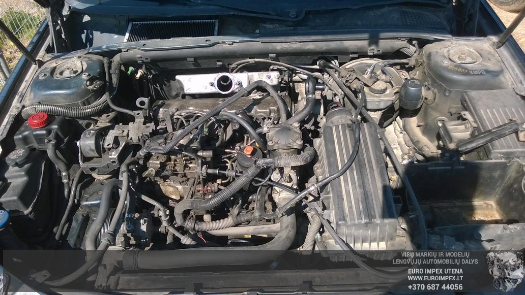 Naudotos automobiliu dallys Foto 8 Peugeot 406 1999 1.9 Mechaninė Universalas 4/5 d. Melyna 2014-7-16 A1679
