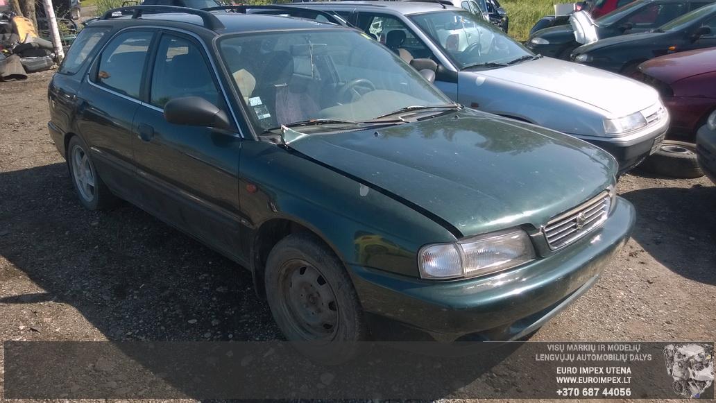 Naudotos automobilio dalys Suzuki BALENO 1999 1.3 Mechaninė Universalas 4/5 d. Žalia 2014-7-16