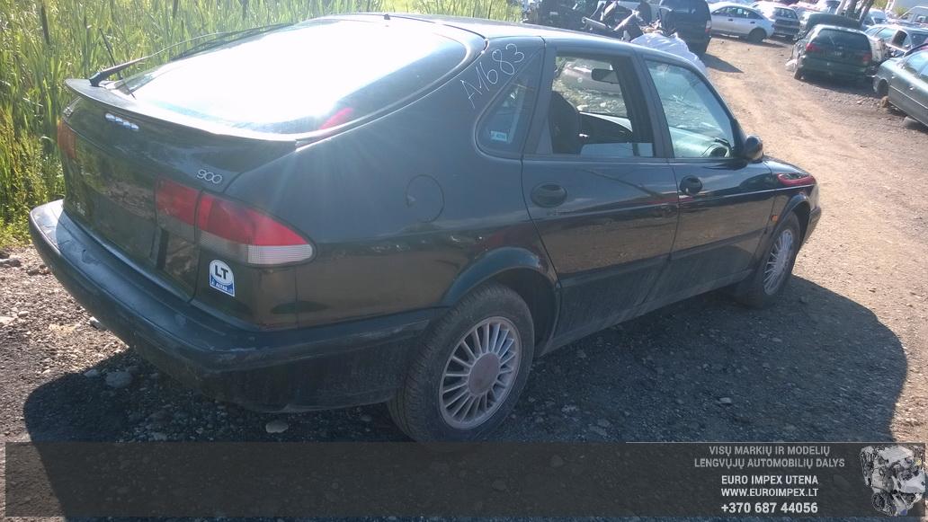 Naudotos automobilio dalys SAAB 900 1996 2.0 Mechaninė Hačbekas 4/5 d. Juoda 2014-7-16