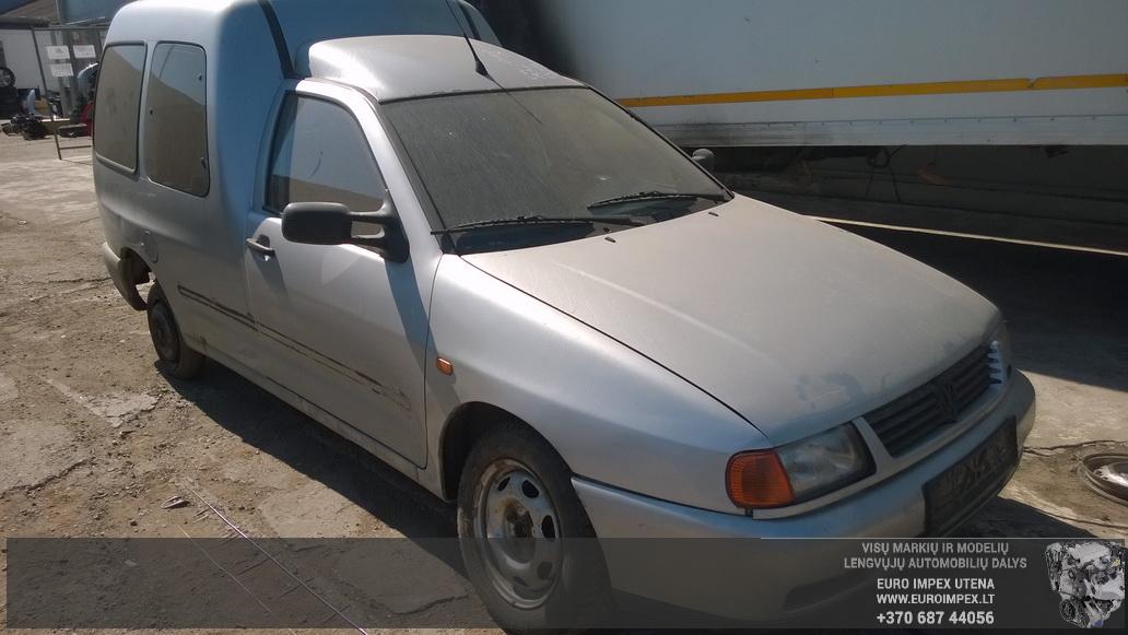 Naudotos automobiliu dallys Foto 3 Volkswagen CADDY 1996 1.9 Mechaninė Komercinis 2/3 d. Pilka 2014-7-23 A1693
