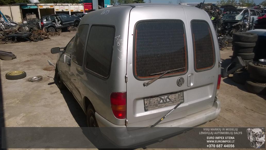 Naudotos automobiliu dallys Foto 7 Volkswagen CADDY 1996 1.9 Mechaninė Komercinis 2/3 d. Pilka 2014-7-23 A1693