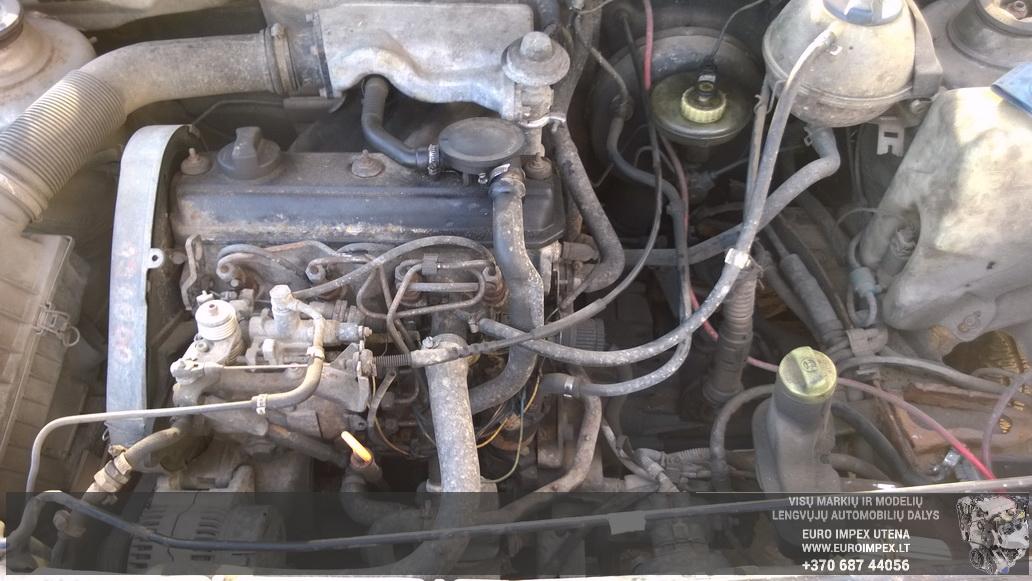 Naudotos automobiliu dallys Foto 8 Volkswagen CADDY 1996 1.9 Mechaninė Komercinis 2/3 d. Pilka 2014-7-23 A1693