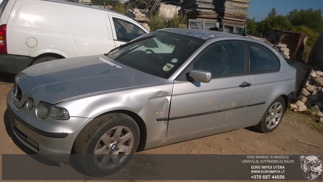 BMW 3-SERIES 2002 1.8 Mechanical