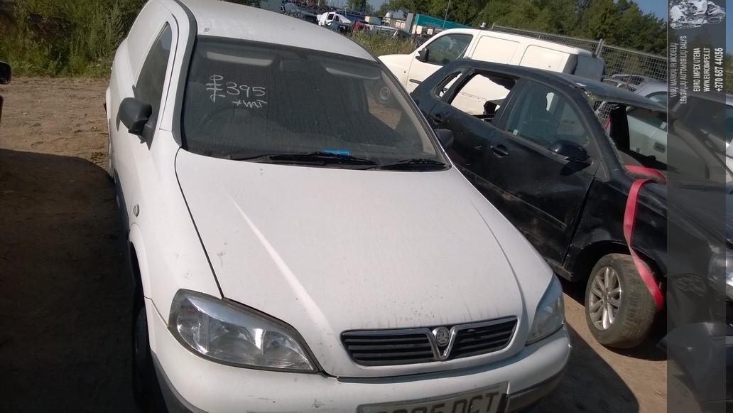 Naudotos automobiliu dallys Foto 2 Opel ASTRA 1999 1.7 Mechaninė Komercinis 2/3 d. Balta 2014-7-26 A1696