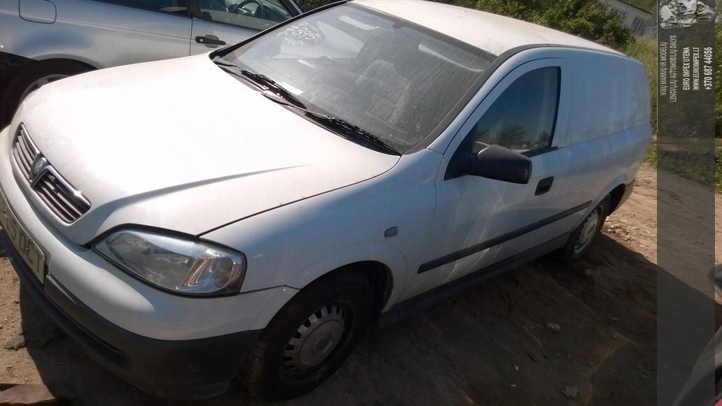 Naudotos automobiliu dallys Foto 3 Opel ASTRA 1999 1.7 Mechaninė Komercinis 2/3 d. Balta 2014-7-26 A1696