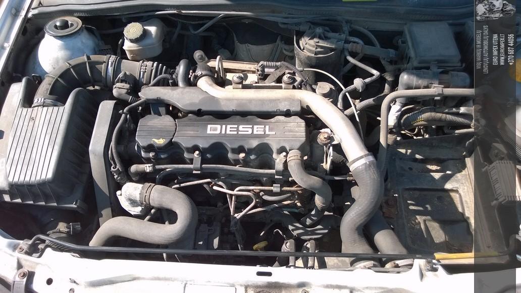 Naudotos automobiliu dallys Foto 4 Opel ASTRA 1999 1.7 Mechaninė Komercinis 2/3 d. Balta 2014-7-26 A1696