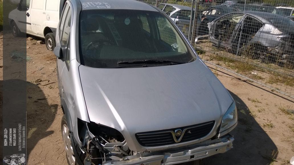 Opel ZAFIRA 2002 1.8 Mechaninė