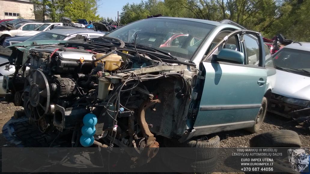 Naudotos automobilio dalys Volkswagen PASSAT 1999 2.3 Mechaninė Universalas 4/5 d. Žydra 2014-7-26