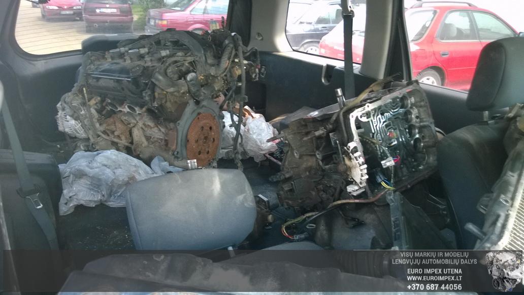 Naudotos automobilio dalys Mitsubishi ENDEAVOR 2005 3.8 Automatinė Visureigis 4/5 d. Juoda 2014-7-29