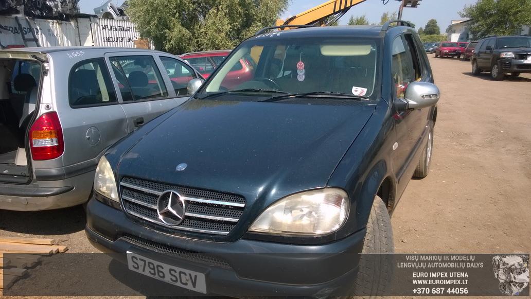 Naudotos automobiliu dallys Foto 2 Mercedes-Benz ML-CLASS 1999 3.2 Automatinė Visureigis 4/5 d. Juoda 2014-7-29 A1706