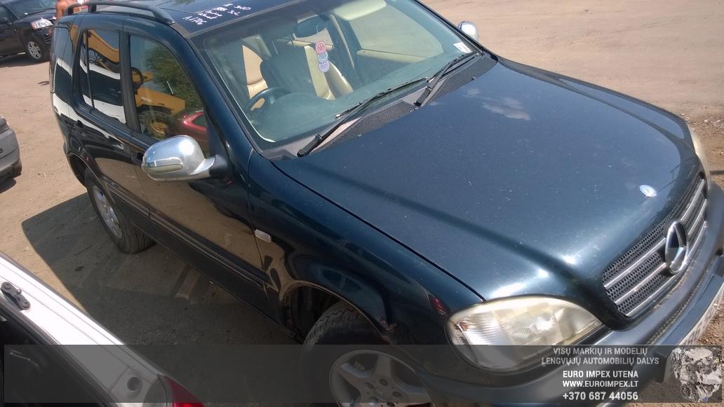 Naudotos automobiliu dallys Foto 3 Mercedes-Benz ML-CLASS 1999 3.2 Automatinė Visureigis 4/5 d. Juoda 2014-7-29 A1706