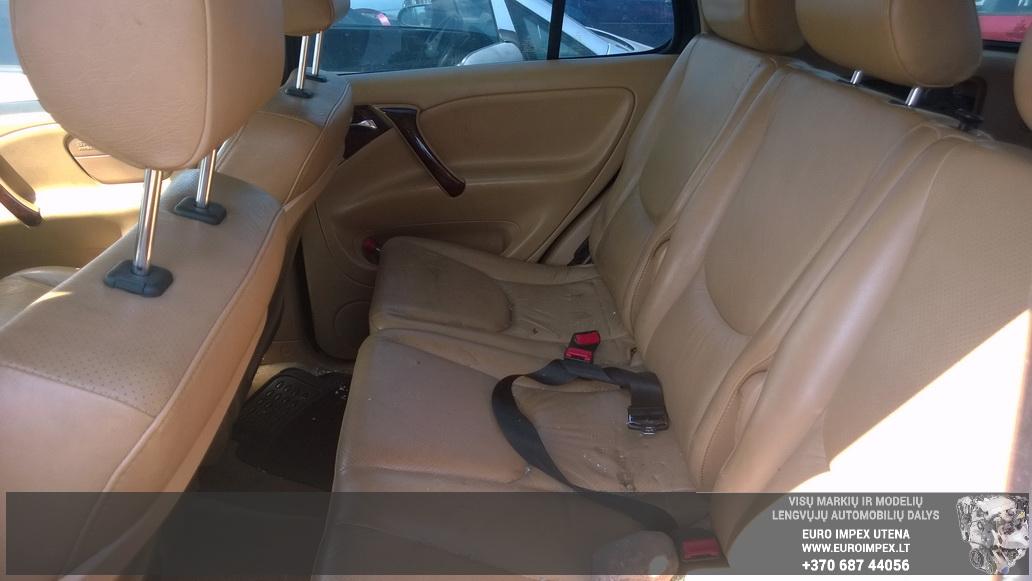 Naudotos automobiliu dallys Foto 8 Mercedes-Benz ML-CLASS 1999 3.2 Automatinė Visureigis 4/5 d. Juoda 2014-7-29 A1706
