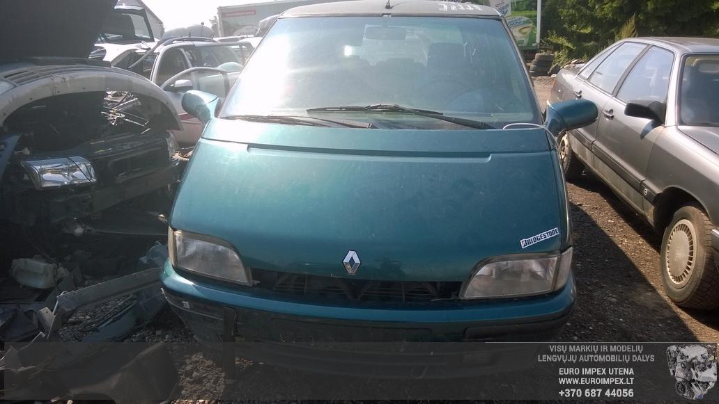Naudotos automobiliu dallys Foto 2 Renault ESPACE 1993 2.2 Mechaninė Vienatūris 4/5 d. Žalia 2014-8-02 A1715