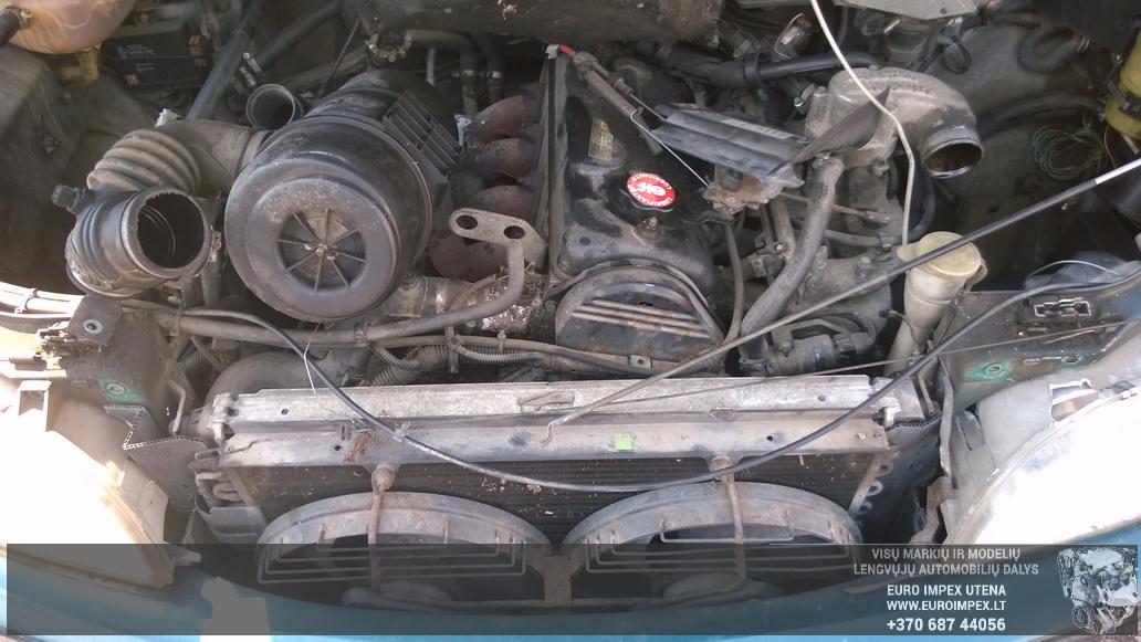 Naudotos automobiliu dallys Foto 8 Renault ESPACE 1993 2.2 Mechaninė Vienatūris 4/5 d. Žalia 2014-8-02 A1715