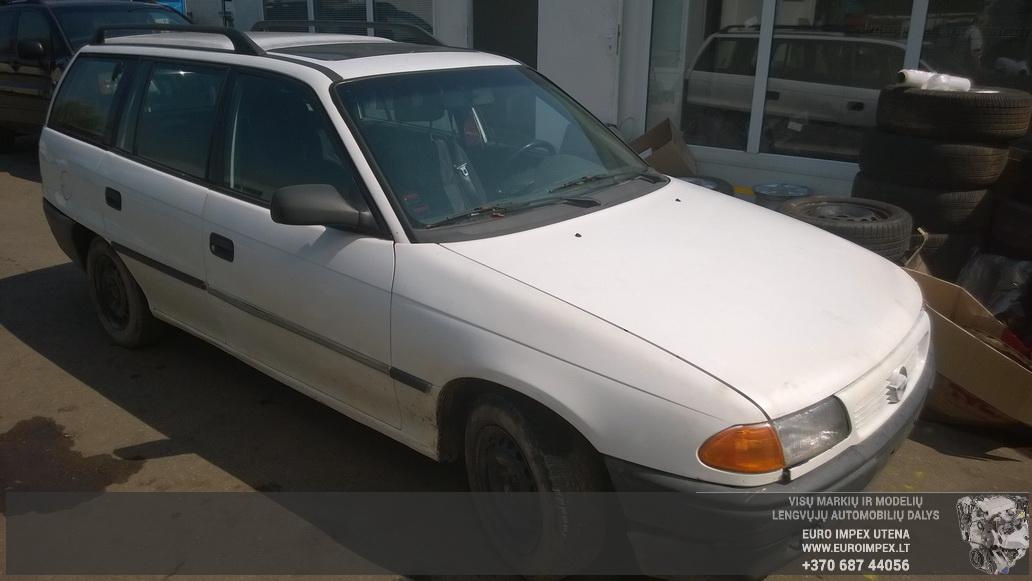 Opel ASTRA 1996 1.7 Mechaninė