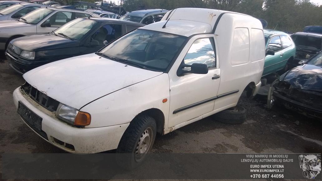 Volkswagen CADDY 1999 1.9 Mechaninė