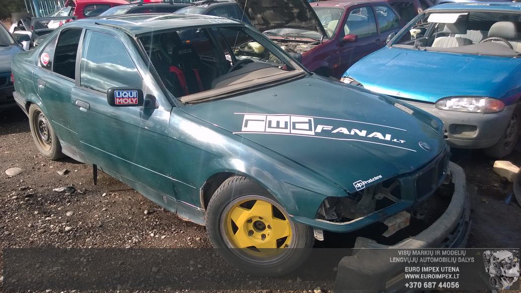 BMW 3-SERIES 1991 2.5 Mechaninė