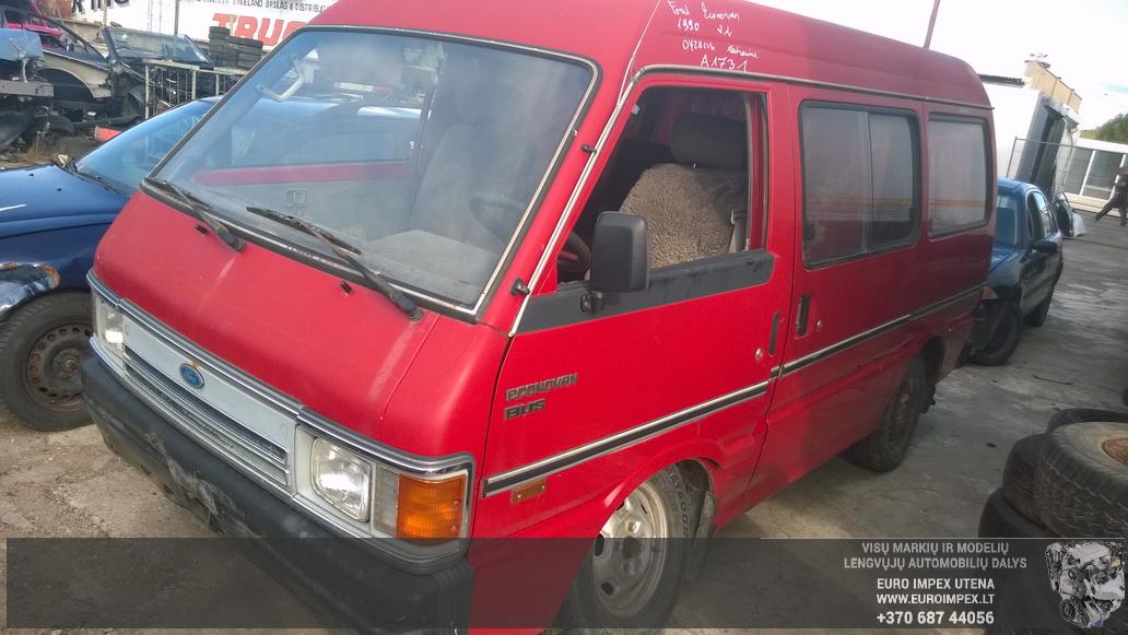 Naudotos automobilio dalys Ford ECONOVAN 1990 2.2 Mechaninė Vienatūris 4/5 d. Raudona 2014-8-19