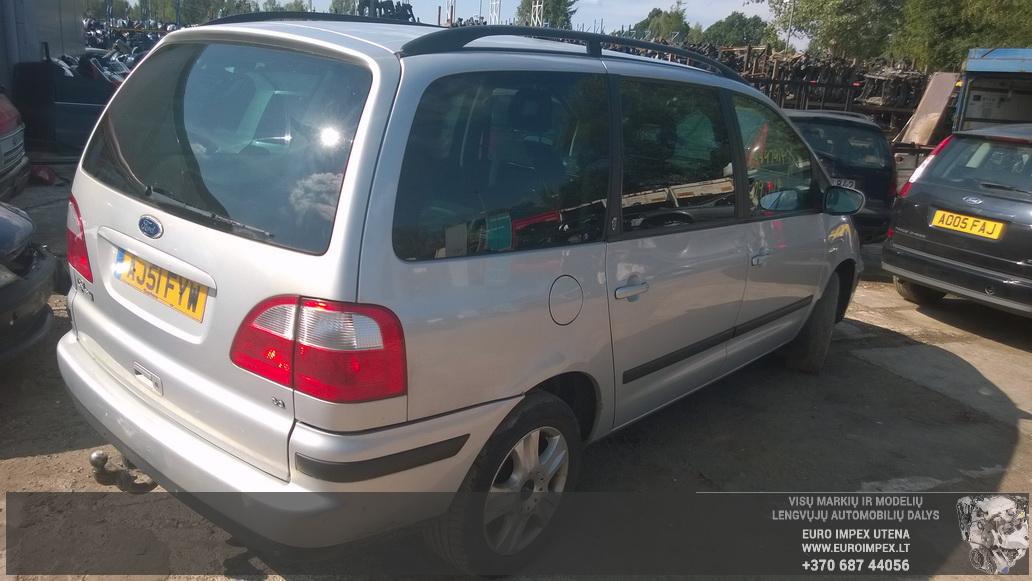 Naudotos automobilio dalys Ford GALAXY 2002 2.3 Mechaninė Vienatūris 4/5 d. Pilka 2014-8-20