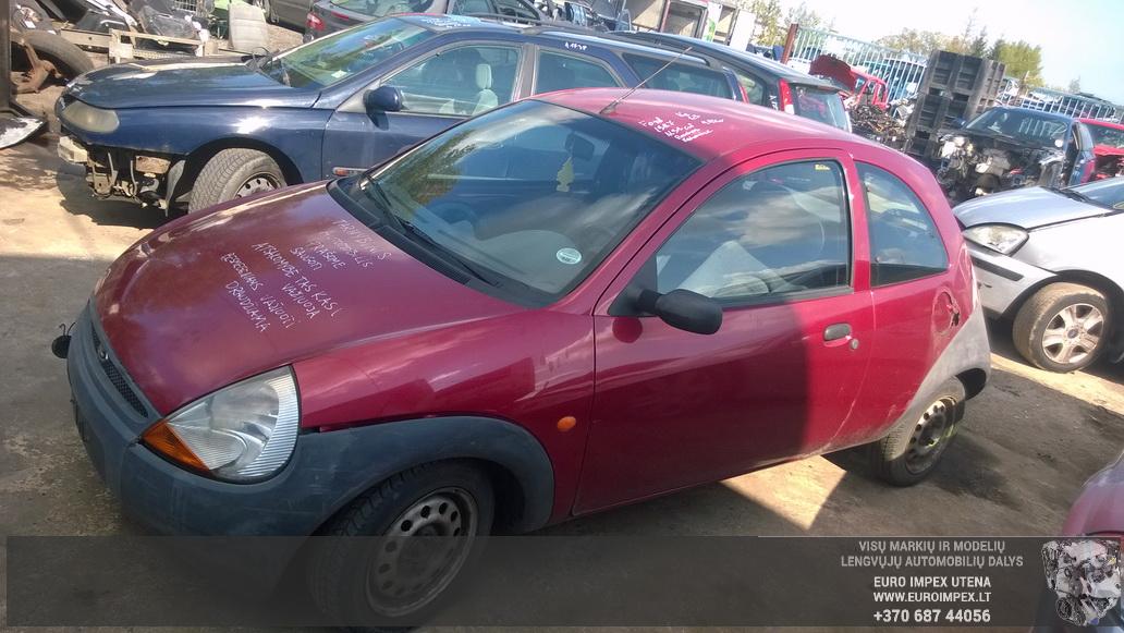 Naudotos automobilio dalys Ford KA 1997 1.3 Mechaninė Hačbekas 2/3 d. Raudona 2014-8-20
