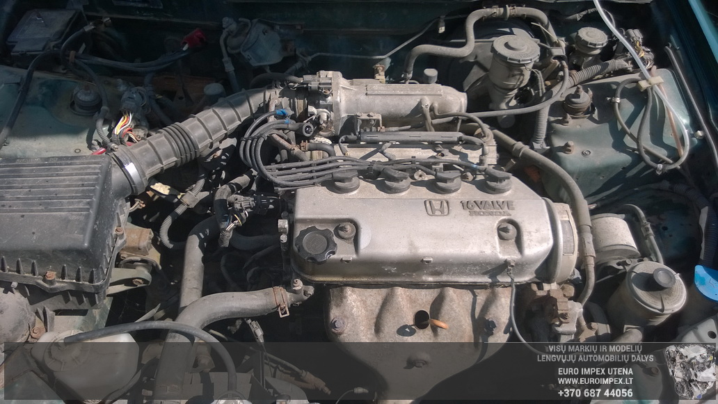 Naudotos automobiliu dallys Foto 7 Honda CIVIC 1997 1.6 Mechaninė Hačbekas 4/5 d. Žalia 2014-8-26 A1740
