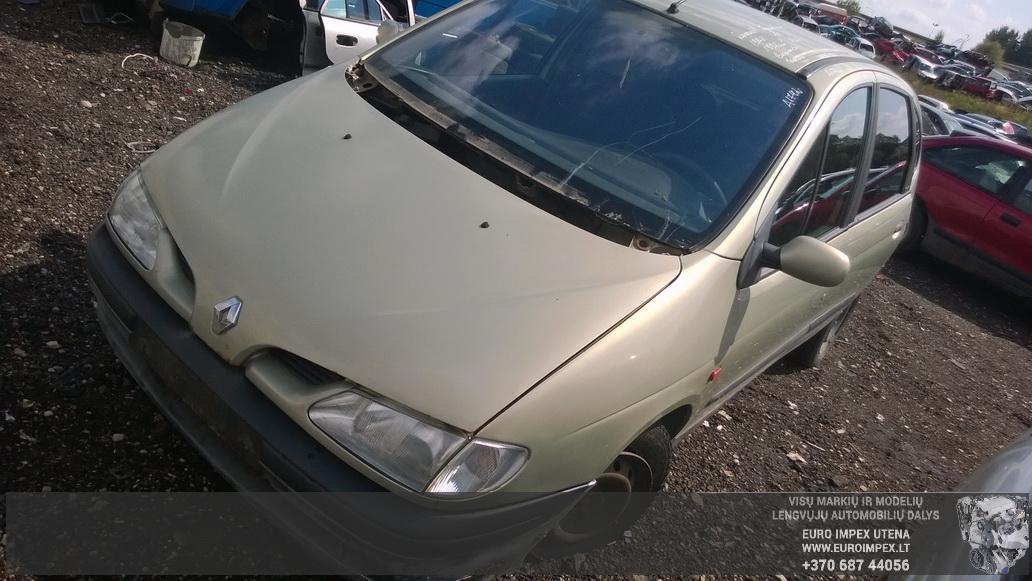 Renault MEGANE SCENIC 1998 2.0 машиностроение