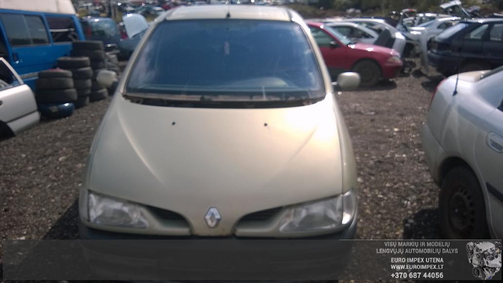 Naudotos automobiliu dallys Foto 2 Renault MEGANE SCENIC 1998 2.0 Mechaninė Vienatūris 4/5 d. Žalia 2014-8-26 A1742