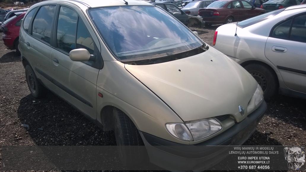 Naudotos automobiliu dallys Foto 3 Renault MEGANE SCENIC 1998 2.0 Mechaninė Vienatūris 4/5 d. Žalia 2014-8-26 A1742