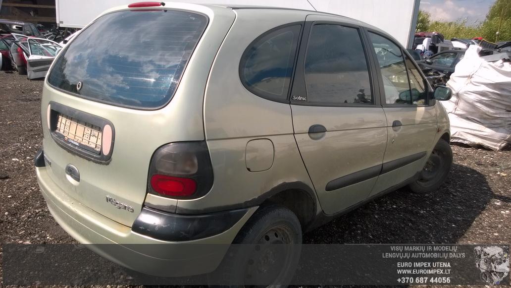 Naudotos automobiliu dallys Foto 6 Renault MEGANE SCENIC 1998 2.0 Mechaninė Vienatūris 4/5 d. Žalia 2014-8-26 A1742