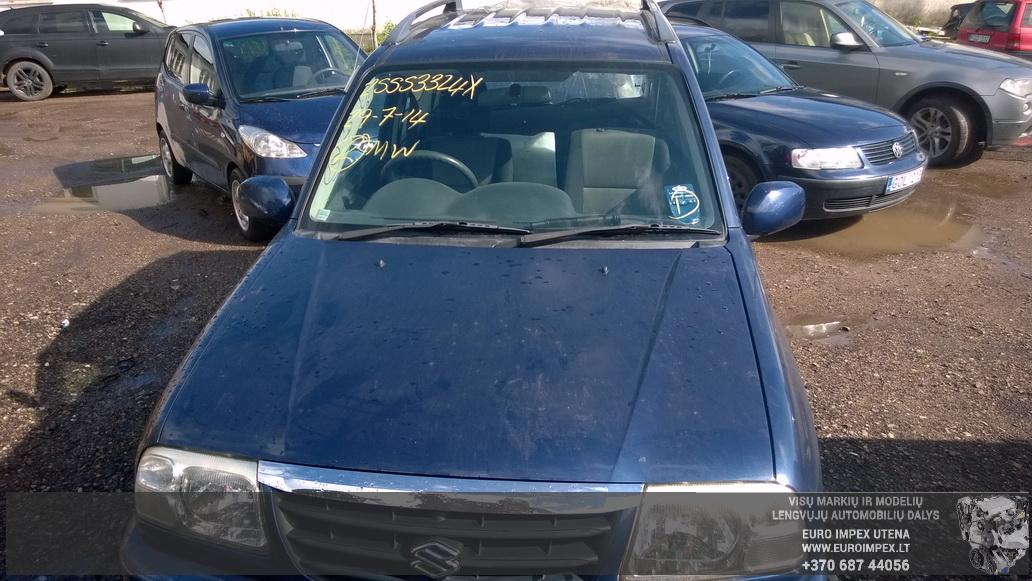 Naudotos automobiliu dallys Foto 2 Suzuki GRAND VITARA 2005 1.6 Mechaninė Visureigis 2/3 d. Melyna 2014-8-29 A1749