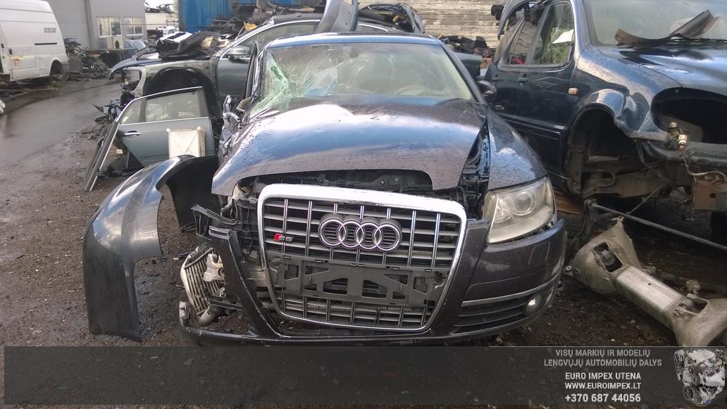 Naudotos automobiliu dallys Foto 2 Audi A6 2005 3.0 Automatinė Sedanas 4/5 d. Juoda 2014-8-29 A1750