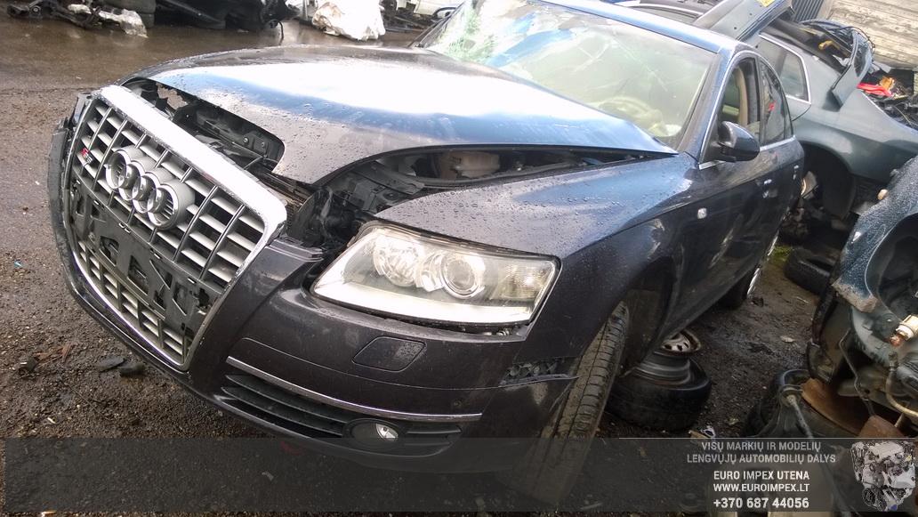 Naudotos automobiliu dallys Foto 3 Audi A6 2005 3.0 Automatinė Sedanas 4/5 d. Juoda 2014-8-29 A1750
