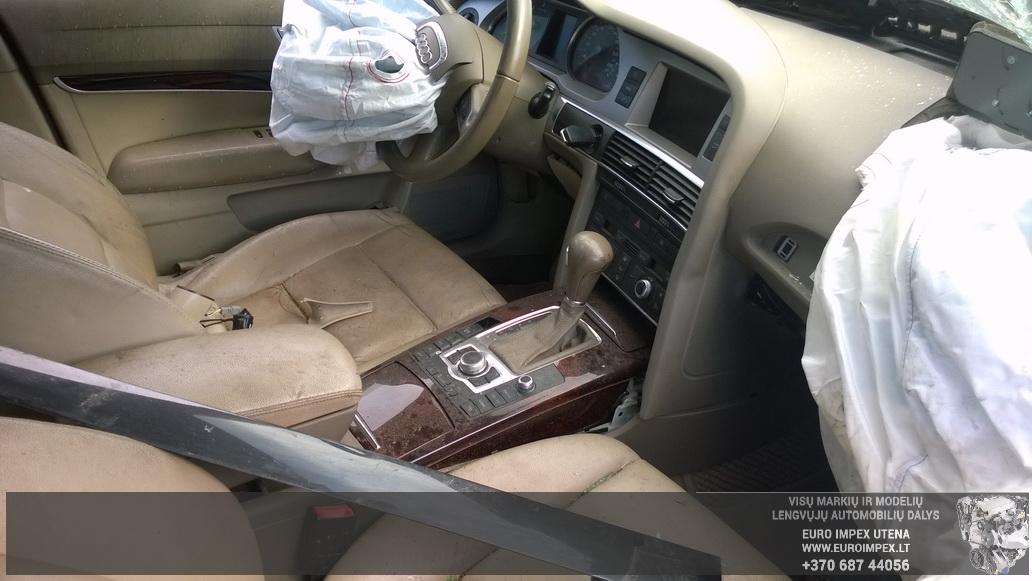 Naudotos automobiliu dallys Foto 4 Audi A6 2005 3.0 Automatinė Sedanas 4/5 d. Juoda 2014-8-29 A1750