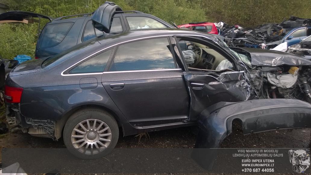Naudotos automobiliu dallys Foto 6 Audi A6 2005 3.0 Automatinė Sedanas 4/5 d. Juoda 2014-8-29 A1750