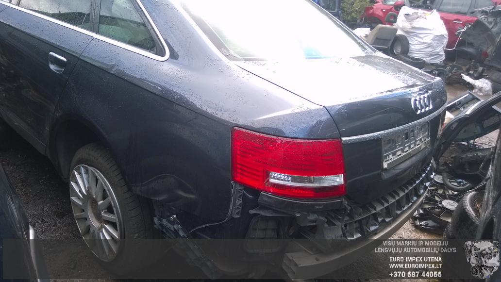 Naudotos automobiliu dallys Foto 7 Audi A6 2005 3.0 Automatinė Sedanas 4/5 d. Juoda 2014-8-29 A1750
