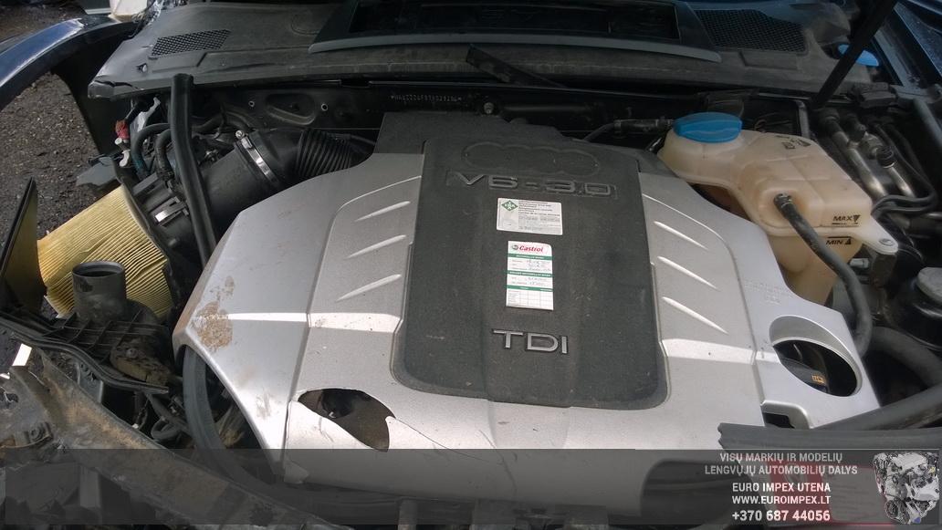 Naudotos automobiliu dallys Foto 8 Audi A6 2005 3.0 Automatinė Sedanas 4/5 d. Juoda 2014-8-29 A1750