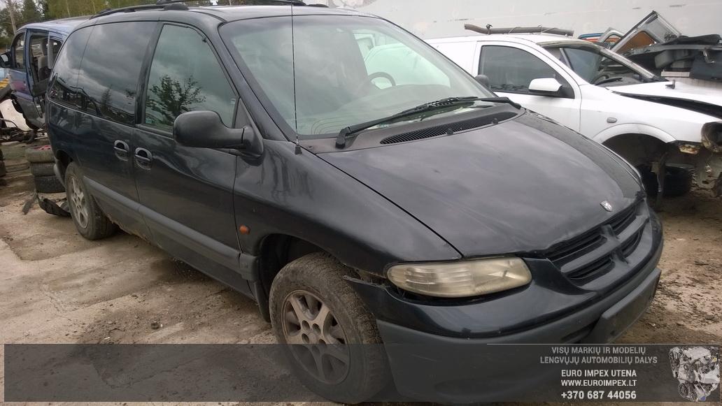 Naudotos automobiliu dallys Foto 3 Chrysler VOYAGER 1999 3.3 Automatinė Vienatūris 4/5 d. Žalia 2014-9-01 A1751