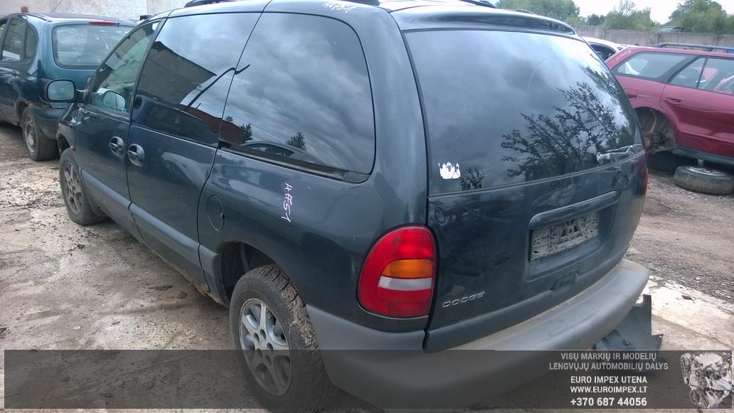 Naudotos automobilio dalys Chrysler VOYAGER 1999 3.3 Automatinė Vienatūris 4/5 d. Žalia 2014-9-01