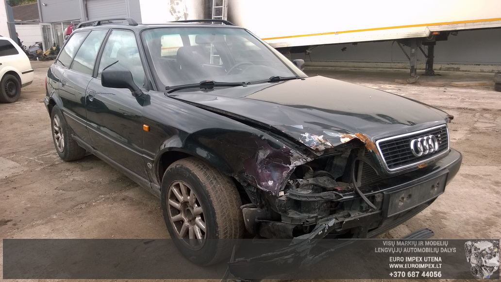 Naudotos automobiliu dallys Foto 3 Audi 80 1994 1.9 Mechaninė Universalas 4/5 d. Žalia 2014-9-01 A1757