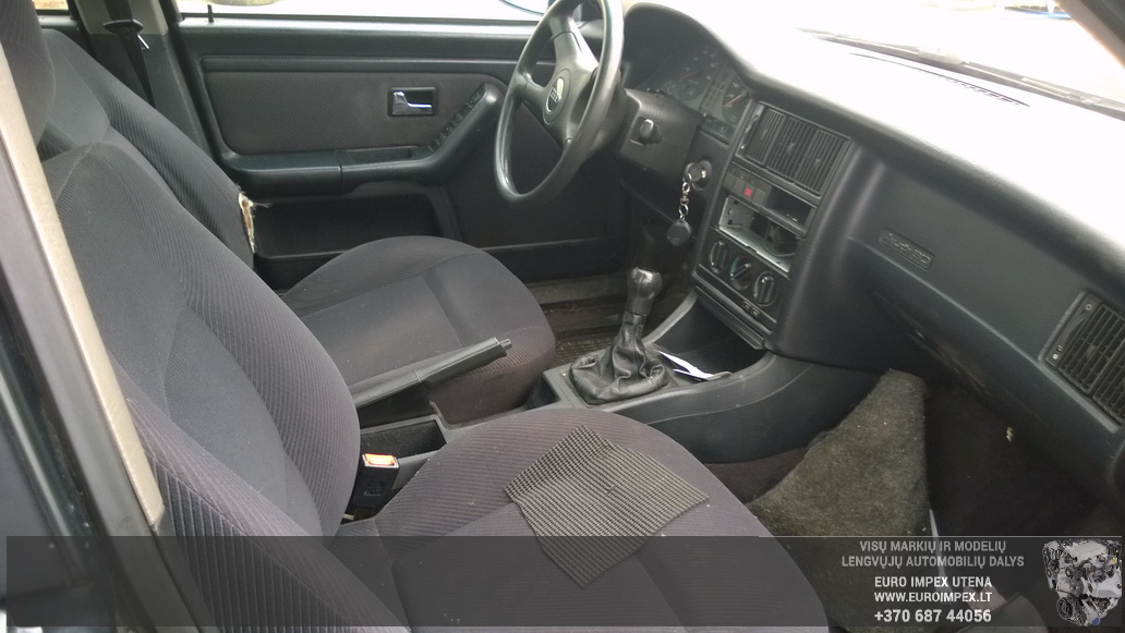 Naudotos automobiliu dallys Foto 5 Audi 80 1994 1.9 Mechaninė Universalas 4/5 d. Žalia 2014-9-01 A1757