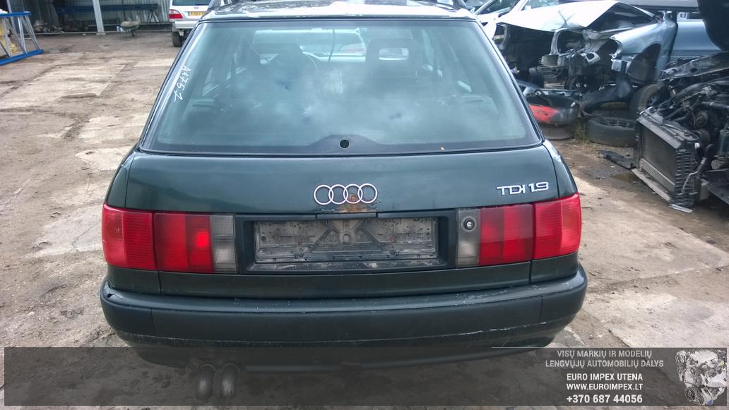 Naudotos automobiliu dallys Foto 8 Audi 80 1994 1.9 Mechaninė Universalas 4/5 d. Žalia 2014-9-01 A1757