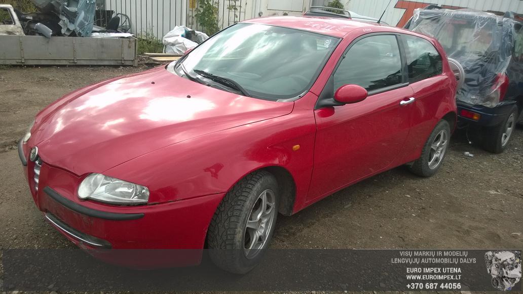 Alfa-Romeo 147 2002 1.6 Mechaninė