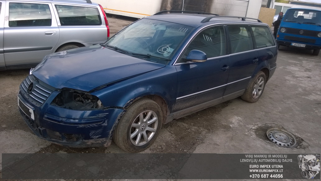 Volkswagen PASSAT 2002 1.9 Mechaninė