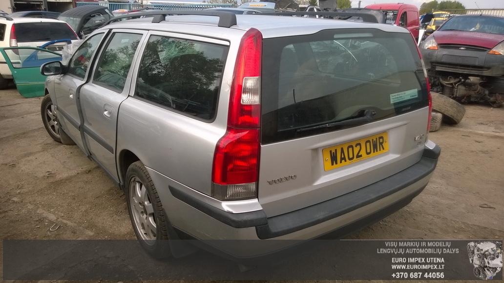 Naudotos automobilio dalys Volvo V70 2002 2.4 Mechaninė Universalas 4/5 d. Pilka 2014-9-13