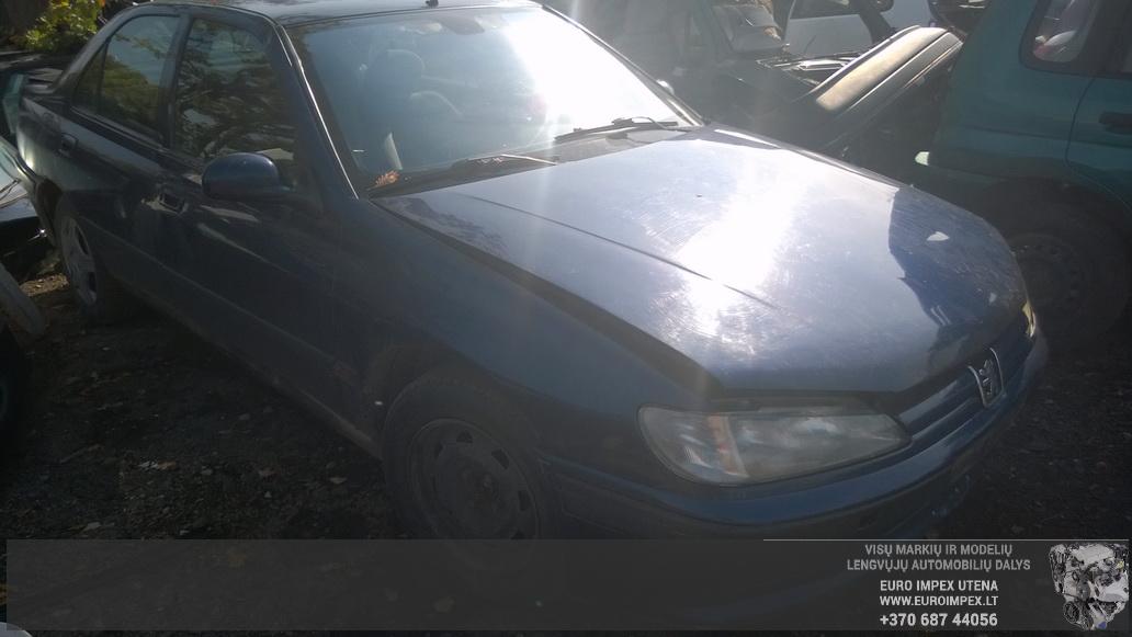 Naudotos automobilio dalys Peugeot 406 1997 2.1 Mechaninė Sedanas 4/5 d. Melyna 2014-9-12