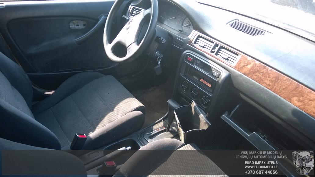 Naudotos automobiliu dallys Foto 4 Honda CIVIC 1996 1.4 Automatinė Hačbekas 4/5 d. Pilka 2014-9-12 A1765