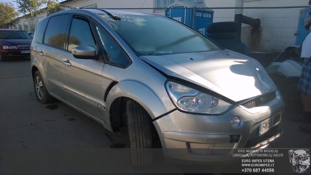 Naudotos automobilio dalys Ford S-MAX 2008 1.8 Mechaninė Vienatūris 4/5 d. Pilka 2014-9-20
