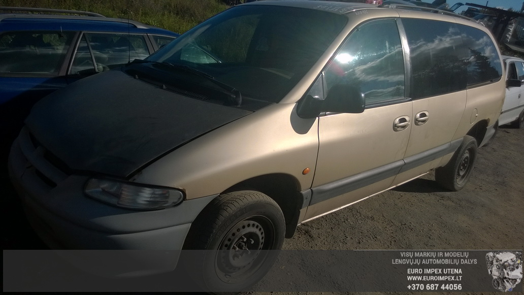 Naudotos automobilio dalys Dodge GRAND CARAVAN 1999 3.3 Automatinė Vienatūris 4/5 d. Pilka 2014-9-24