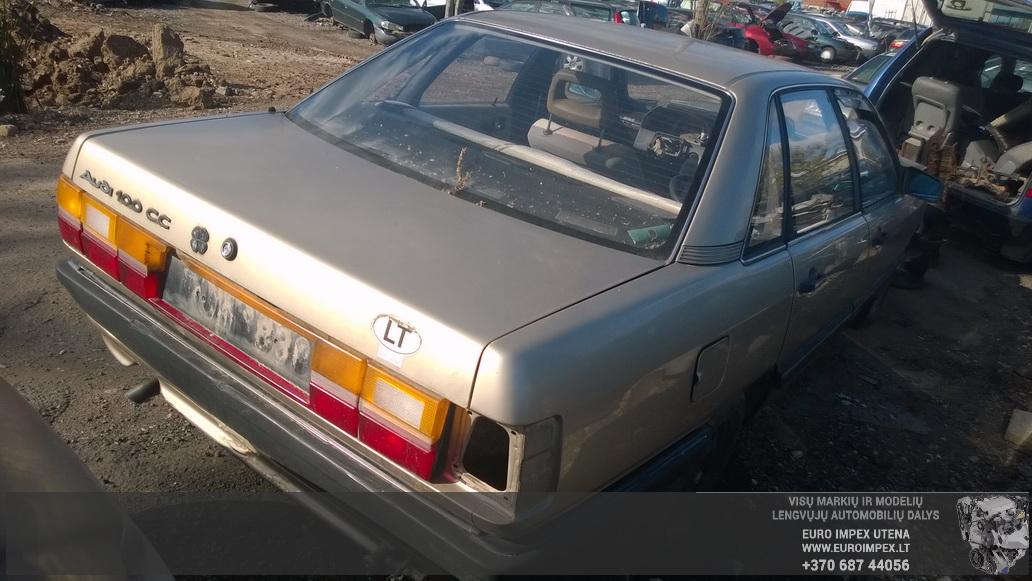 Naudotos automobilio dalys Audi 100 1986 2.2 Mechaninė Sedanas 4/5 d. Ruda 2014-9-24